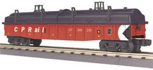 MTH Railking CP Rail Gondola w/Cover, 3 rail