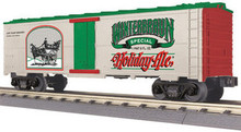 MTH Rail King, Winterbraun Holiday Ale Modern Reefer,  3 rail