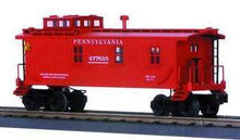 MTH Rail King PRR Woodsided Caboose , 3 rail
