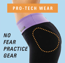 STYLE 502: PRO-TECH WEAR FLAT WAISTBAND PANTS NO FEAR PRACTICE GEAR