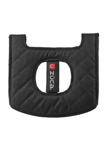 MINI SEAT CUSHION, BLACK/GRAY