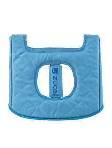 MINI SEAT CUSHION, BLUE/DARK BLUE