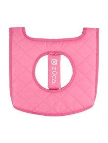 SEAT CUSHION, PINK/PALE PINK