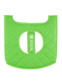 SEAT CUSHION, GREEN/BLACK