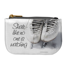 SKATE NO ONE WATCHING COIN PURSE