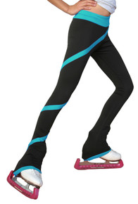 Light Weight Fleece Spiral Pants P636F TQ (Turquoise)