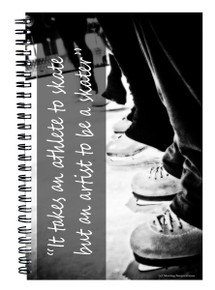 ATHLETE ARTIST SKATING NOTEBOOK
