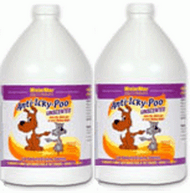 Anti-Icky-Poo Unscented 2 Gallons Set