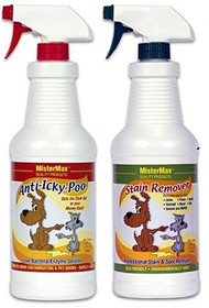 Stain Remover & Original Anti-Icky-Poo Quart Combo