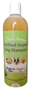 G That's Awesome Certified Organic Dog Shampoo - 1 Pint