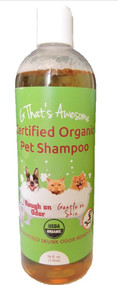 G That's Awesome Certified Organic Pet Shampoo - 1 Pint