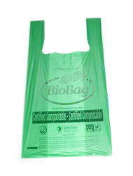 50 T-Shirt Style Biodegradable Pet Waste and Cat Litter Disposal Bags