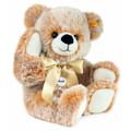 EAN 013539 Steiff plush Bobby Teddy bear dangling, brown tipped