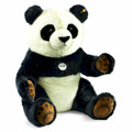 EAN 075803 Steiff plush Studio Pummy panda, black/white