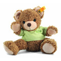 EAN 282232 Steiff plush Knuffi Teddy bear, Steiff's happy friends, brown