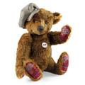 EAN 000997 Steiff mohair Classic Teddy bear Jonathan Macbear, rust