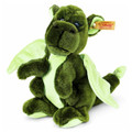 EAN 015120 Steiff woven fur Kian baby dragon, green
