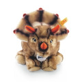 EAN 066870 Steiff woven fur Trixi triceratops, brown tipped