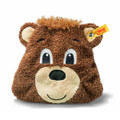 EAN 290022 Steiff plush FC Bayern Bernie Teddy bear heat cushion, brown