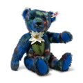EAN 006708 Steiff mohair Claude designer's choice Teddy bear, multi colored