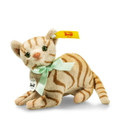 EAN 031809 Steiff plush Mitzi cat, light brown