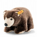 EAN 069390 Steiff plush Softie brown bear, brown tipped