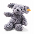 EAN 083570 Steiff plush soft cuddly friends Toni dog, blue gray