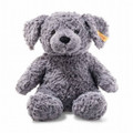 EAN 083587 Steiff plush soft cuddly friends Toni dog, blue gray
