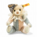 EAN 026836 Steiff mohair vintage memories Kay Teddy bear in gift box, multicolored