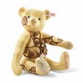 EAN 006272 Steiff silk Gustav designer's choice Teddy bear, gold