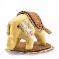 EAN 006265 Steiff silk Steffi designer's choice little elephant, gold