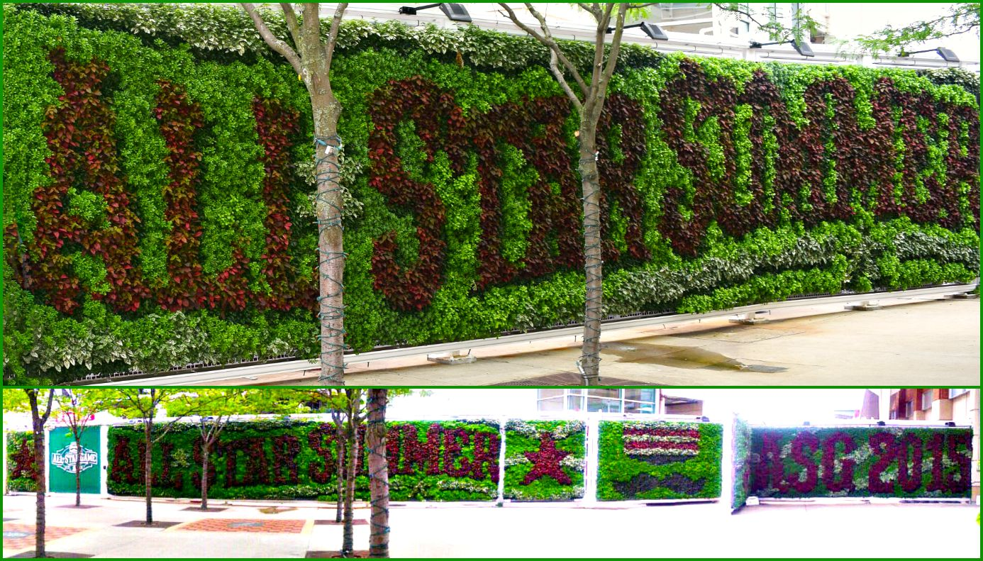 Grovert Living Wall Grovert Living Wall At The Great American Ball Park  2015   Shop