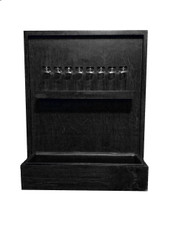 Spice Rack Wall Planter- black- Grown By You