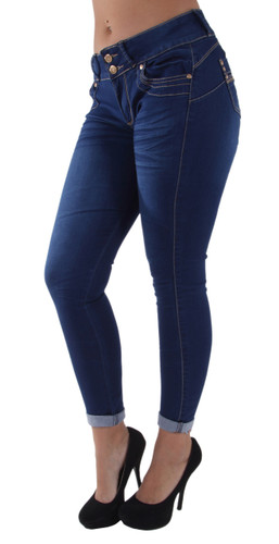 9W720a(S) - Ankle Jeans, Butt Lift, Levanta Cola, Premium, Skinny Jeans