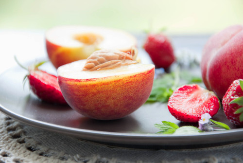 White Strawberry Peach Balsamic