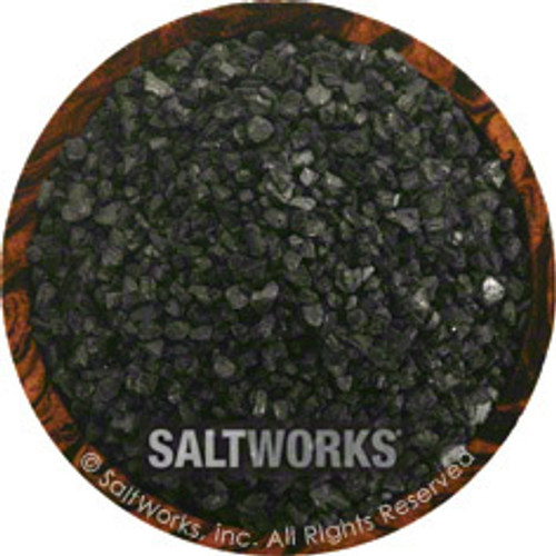 Hiwa Kai Black Hawaiian Sea Salt by Artisan - Flip Top