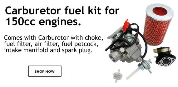 go kart parts fuel kit