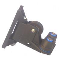 PYF103 Black Swivel Control Cleat including Medium Cam