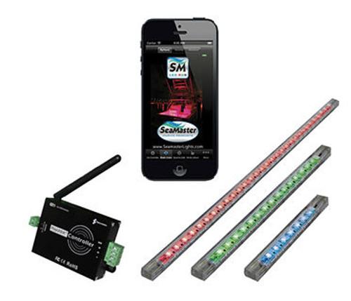 Lifetime Warranty RGB LED Light Kit with WiFi Remote