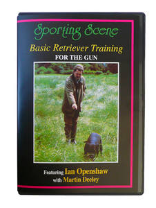 Basic Retriever Training DVD by Openshaw