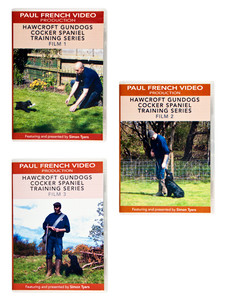 Cocker Spaniel Training DVDs by Tyers