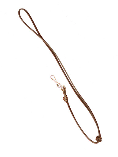 Leather Bootlace Lanyard