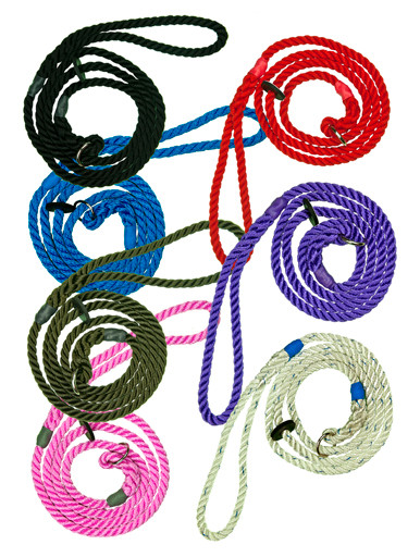 Slip Leads - 8mm Nylon Rope