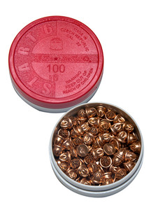 6mm short starting pistol blanks; pot of 100.