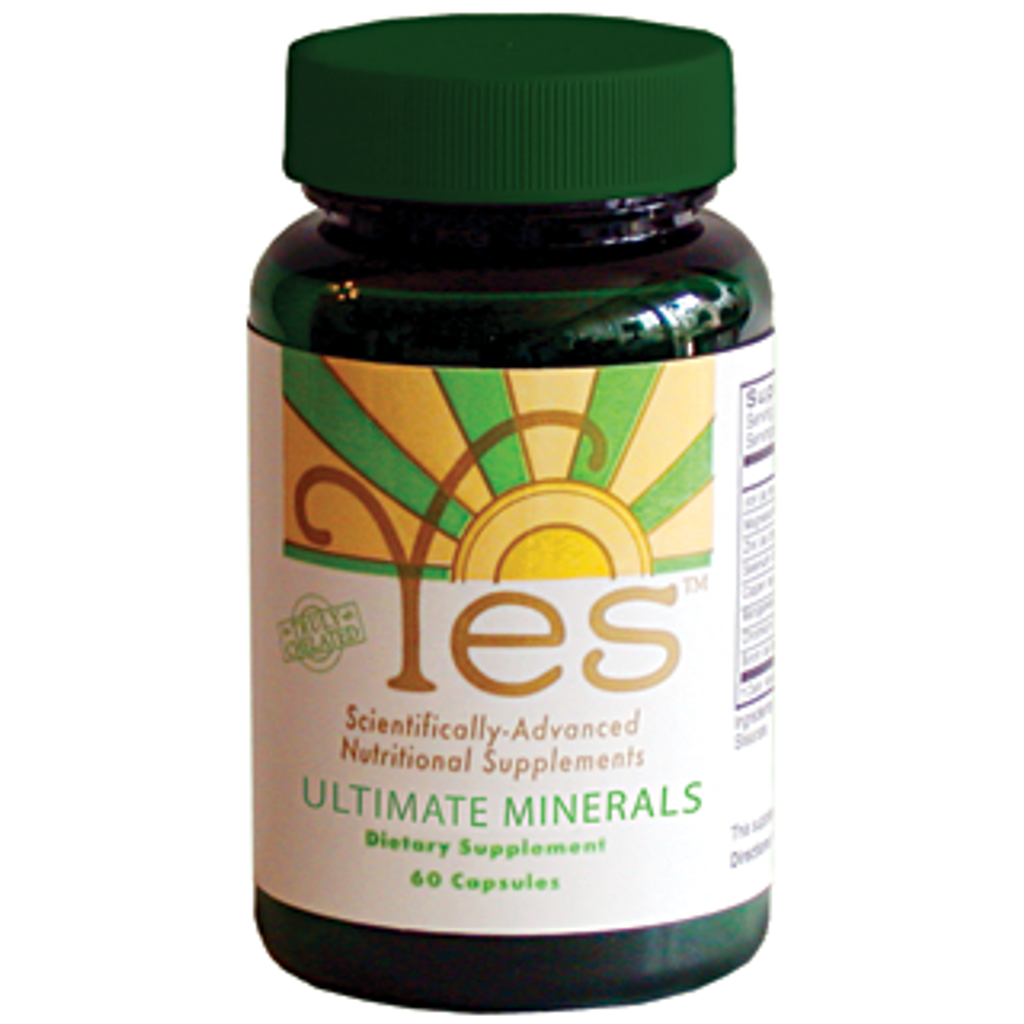 Yes Mineral Capsule formula for one month mineral supplementation based on Brian Peskin's formulation.