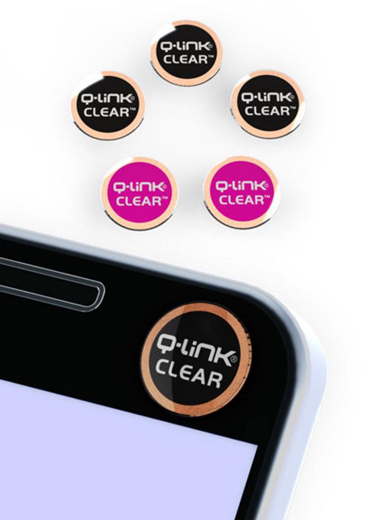 Q-Link Clear EMF Shield, 5 Multi Pack