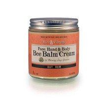 Bee Balm Cream- Bay Rum ( 4 oz.)