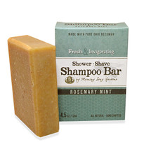 Rosemary Mint- Shower, Shave & Shampoo Bar (4.5 oz.)