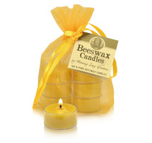 Tealight- Beeswax Candles          (Single, 6 or 10)