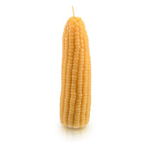 Corn on the Cob Beeswax Candle